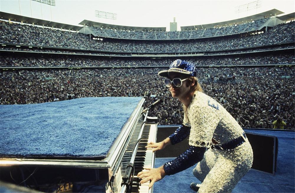 Elton John by Terry O'Neill JM Art Management