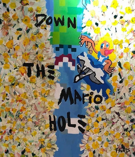 DOWN THE MARIO HOLE