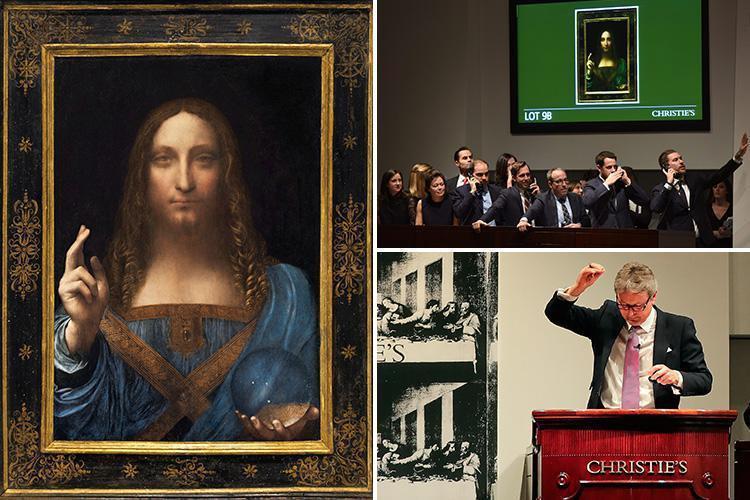 """Leonardo Da Vinci's """"Salvator Mundi"""" (ca. 1500)"""