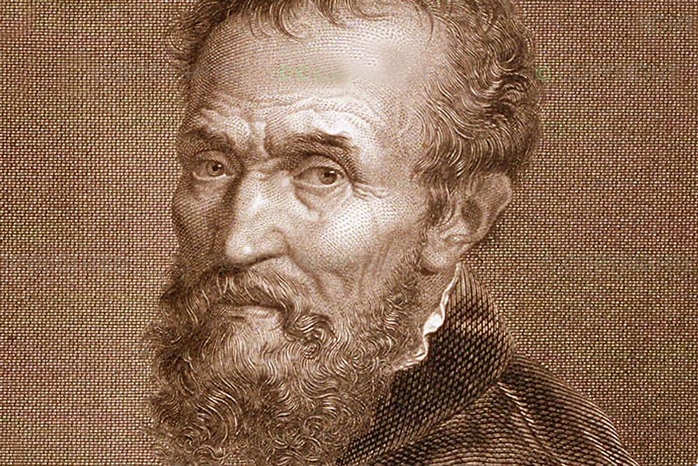 Michelangelo self portrait