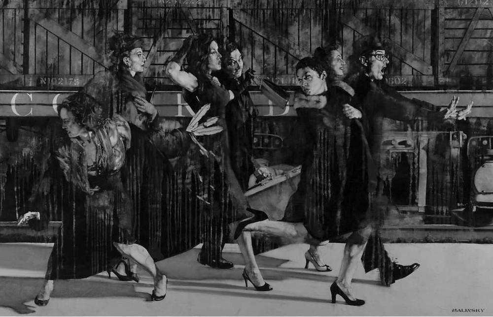 Charles Malinsky | The final journey | JM Art Management