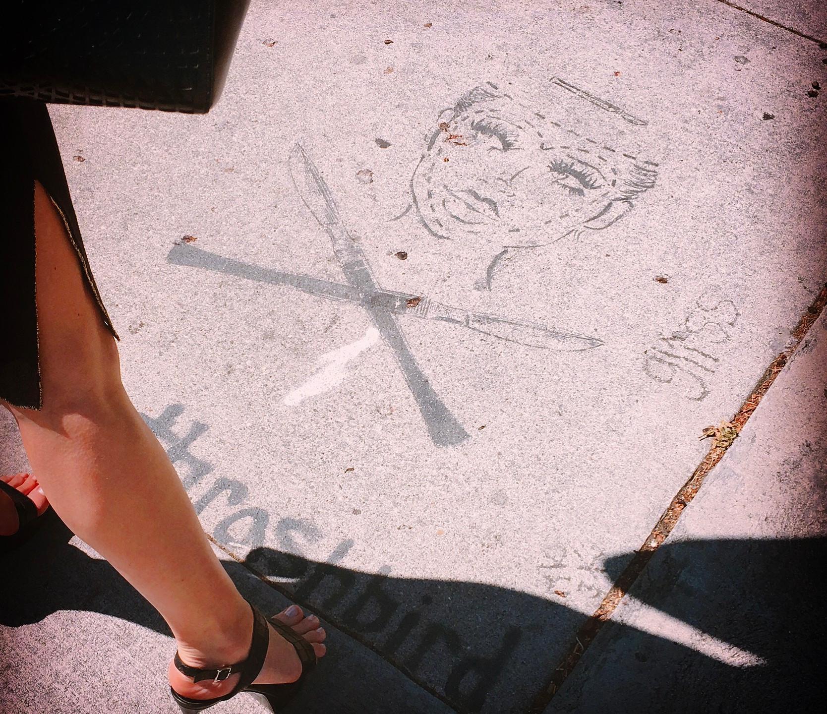 Street art in the heart of Los Feliz
