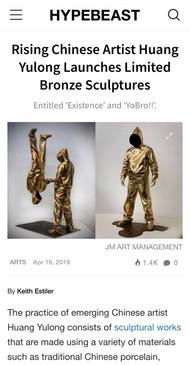 Yulong Hunag X JM Art Management at HYPEBEAST
