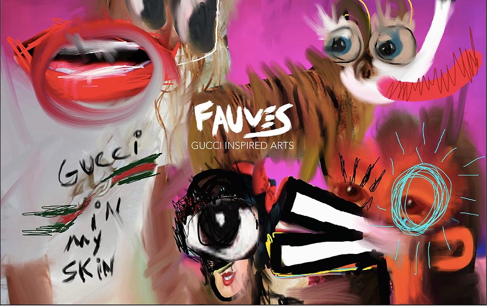 John Paul Fauves - GUCCI inspired