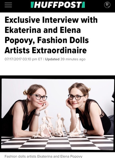 Popovy Sisters for HuffingtonPost