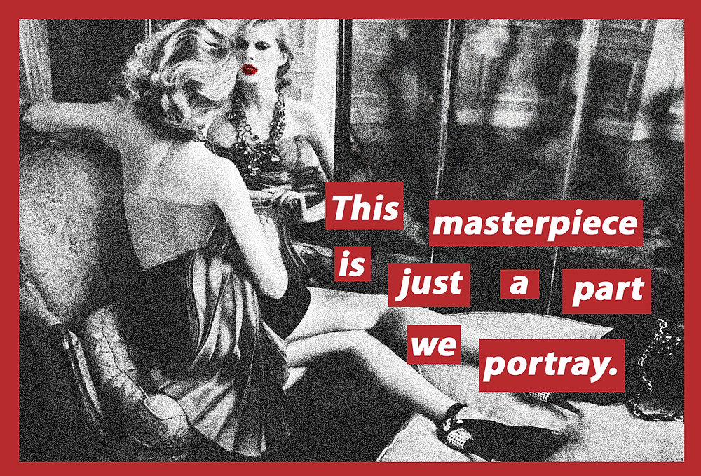 Barbara Kruger - Masterpiece - JM Art Management