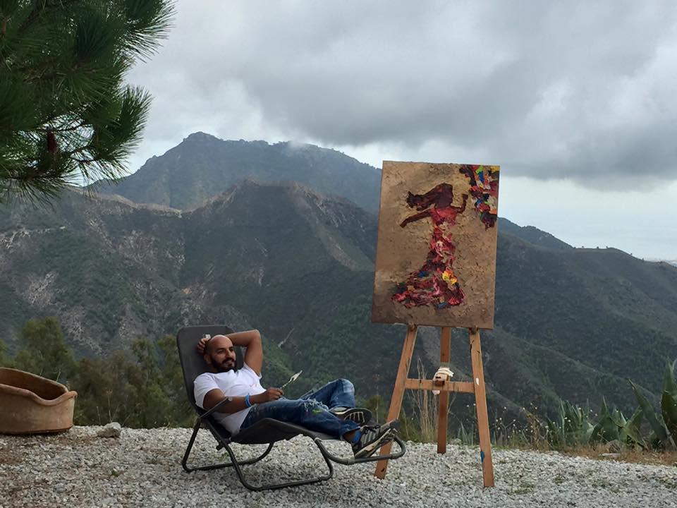 Artist Hossam Dirar | JM Art Management