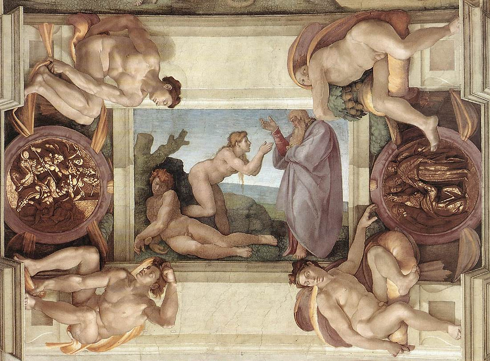 Sistine Chapel Ceiling: Creation of Eve 1510