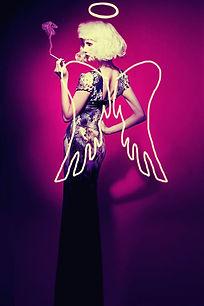 Fashion Fallen Angel