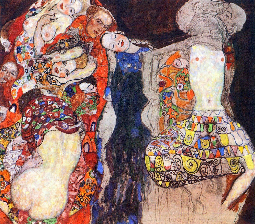 Gustav Klimt, The Bride, 1918  | JM Art Management