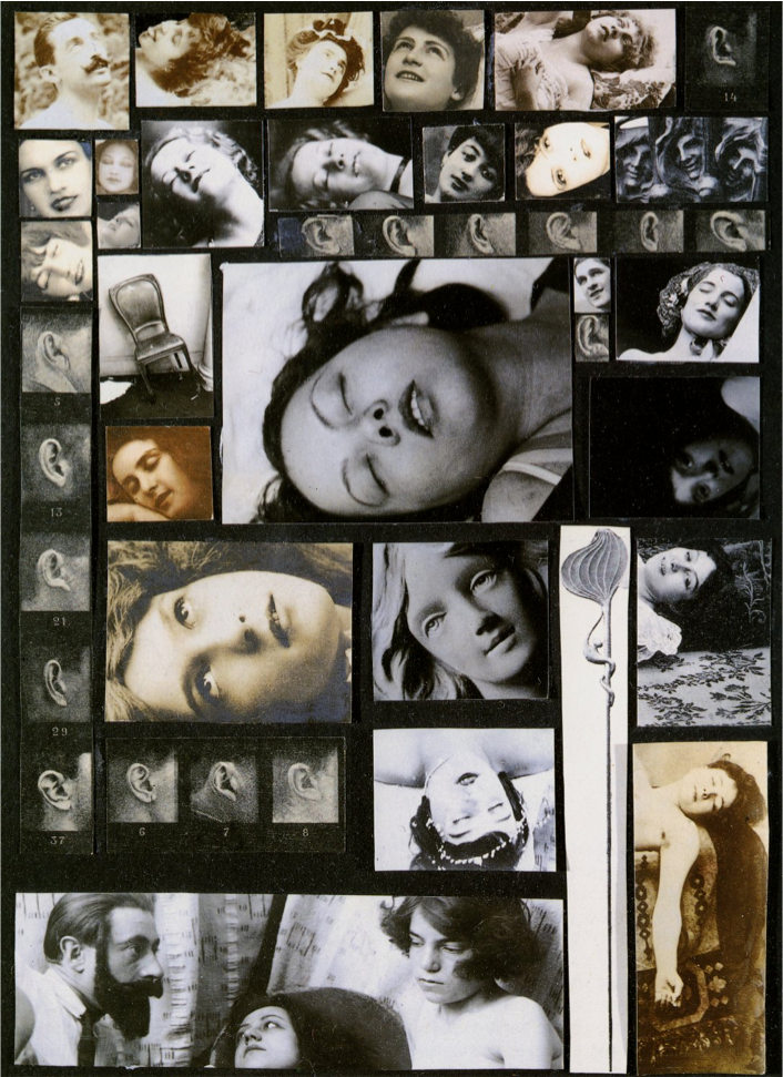Salvador Dali's photomontage The Phenomenon of Ecstasy (1933) | JM Art Management
