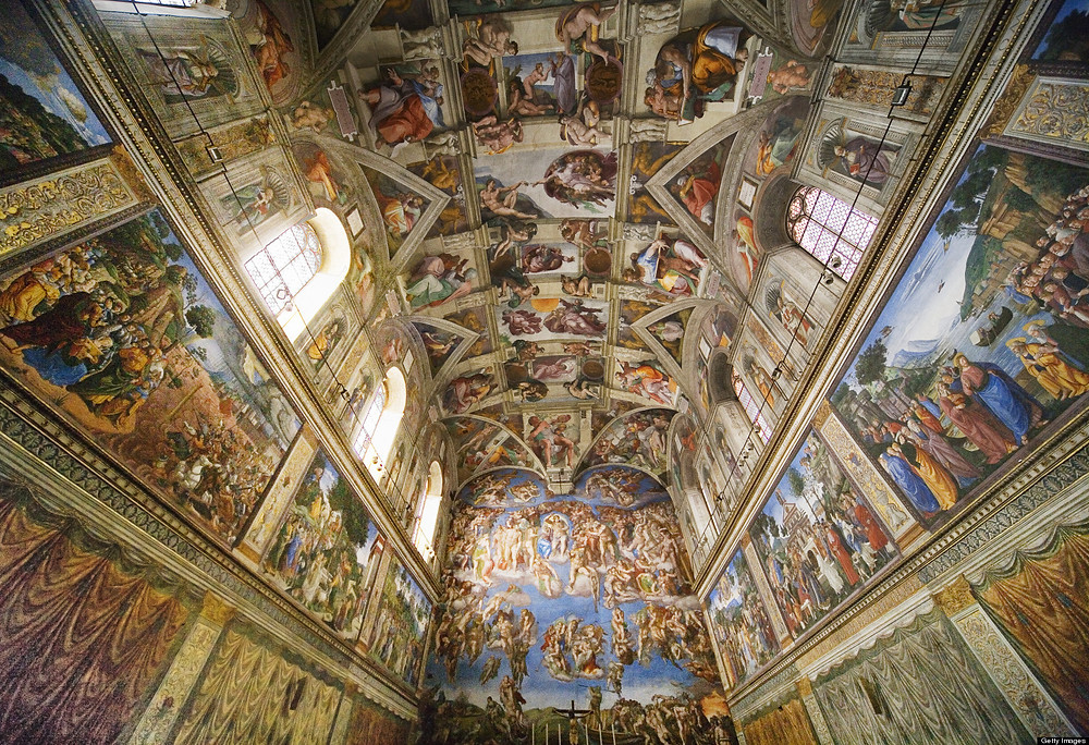 Sistine Chapel Ceiling: Creation of Eve
