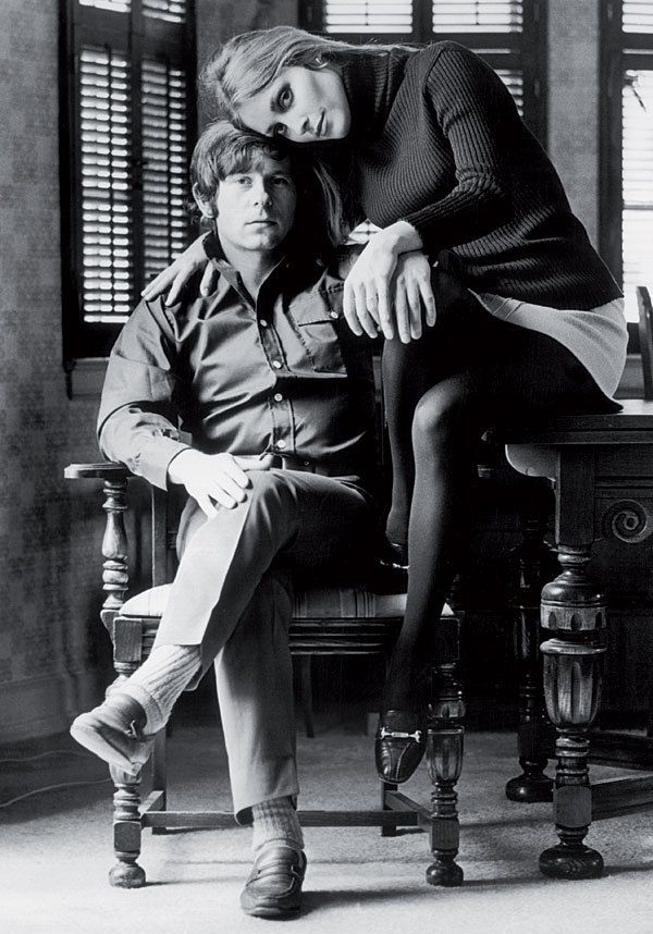 Sharon Tate and Roman Polanski by Terry O'Neill JM Art Management