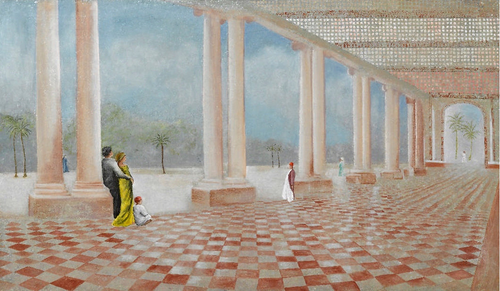 """""""Le Trianon"""" Katherine Bakhoum-Tisné - JM Art Management"""
