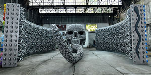 With Metal Skulls and Horns, Turkish Artist Re-interprets Ancient Stor