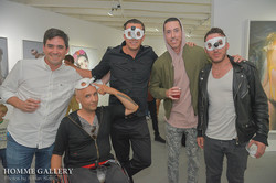 John Paul Fauves with friends