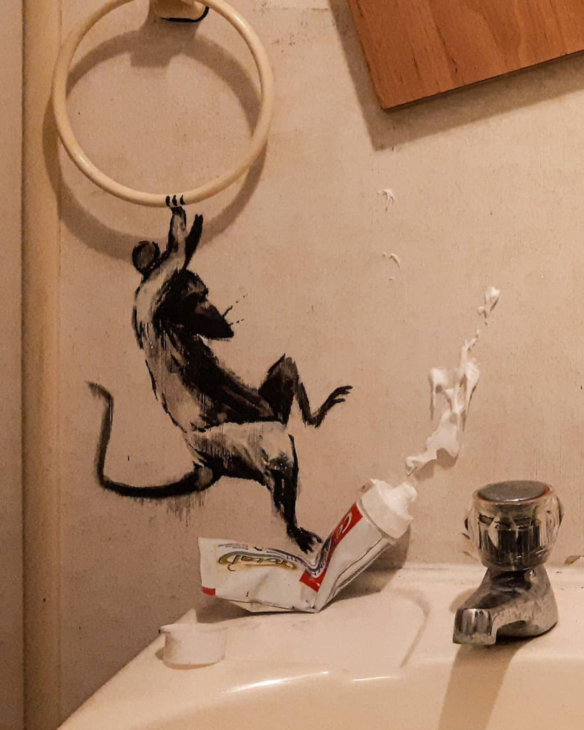 Banksy - Coronavirus - JM Art Management