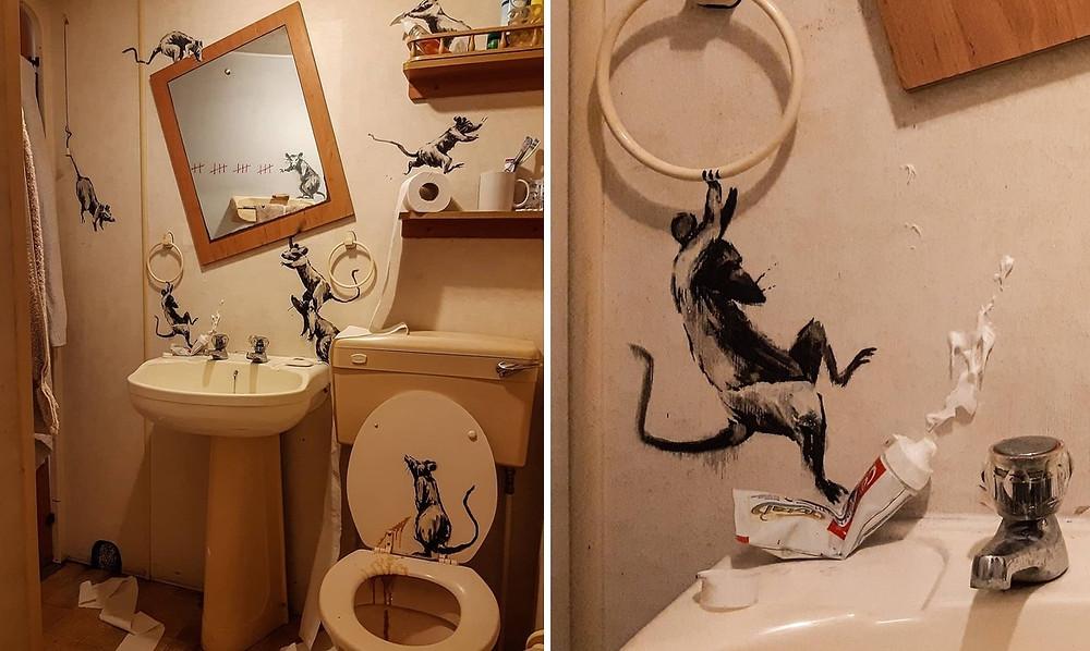 Banksy - Coronavirus - JM Art Management