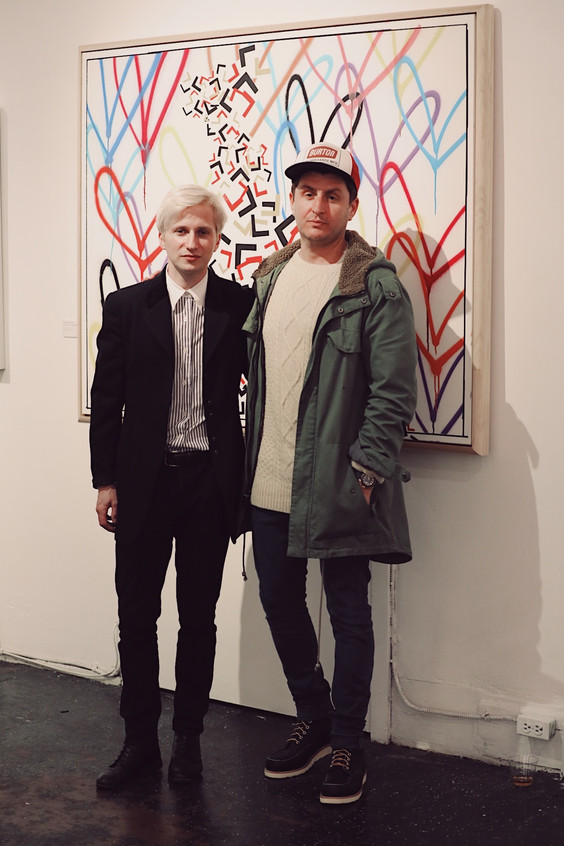 Artist Ty Joseph and JGoldcrown