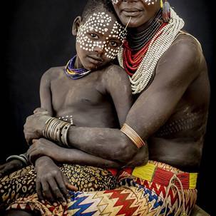 Karo Woman & Son