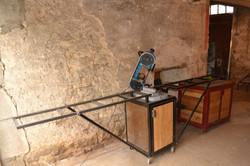 mobilier atelier scie à ruban