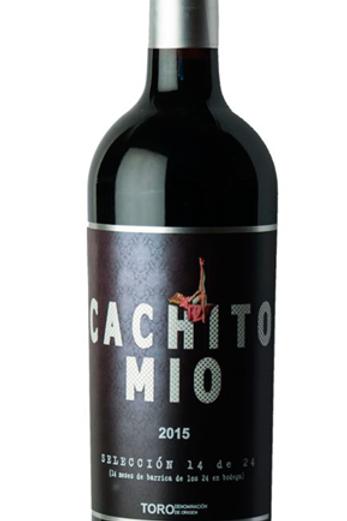 Excelente vino tinto de Toro CACHITO MÍO SELECCIÓN 2015