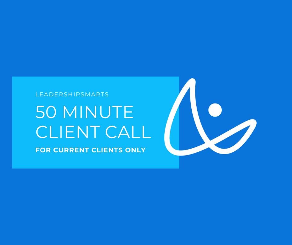 50 Min Coaching Call