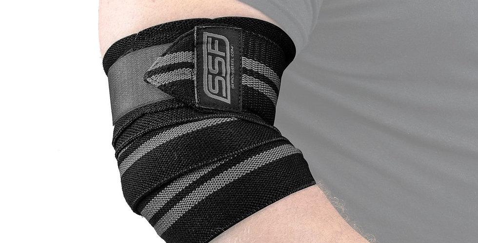 Serious Steel Fitness Elbow Wraps (Pair)