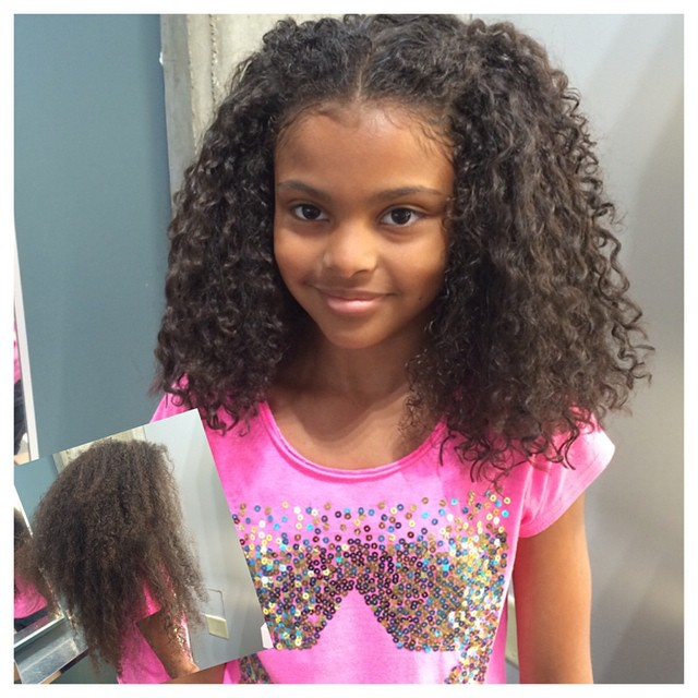 Instagram - This little darling was ready to cut her hair! Now she has a fresh c