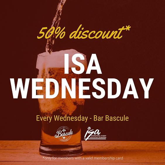 ISA Wednesday