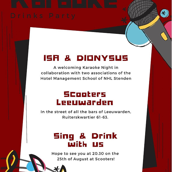 ISA x Dionysus karaoke night 🎶