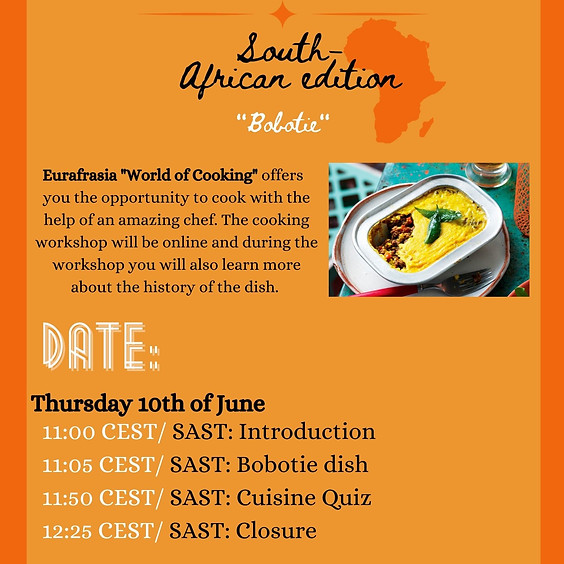 Eurafrasia World of Cooking: South African Edition