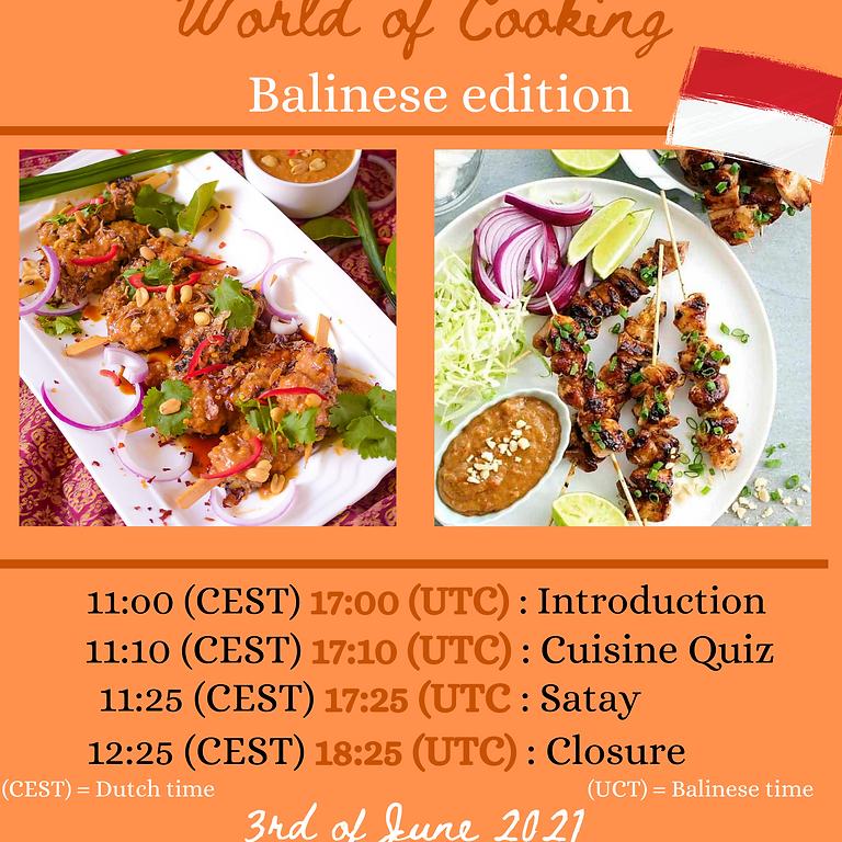 Eurafrasia World of Cooking: Balinese edition