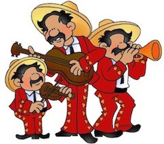 My neighbors and their mariachi band