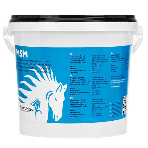 MSM horse