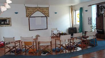 Sala de Formação do Centro de Reiki