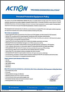 PPE / Personal Protective Equipment Policy