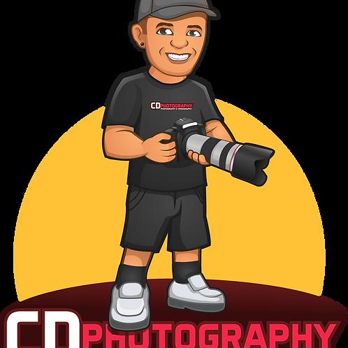 CDPhoto Sticker (Medium)