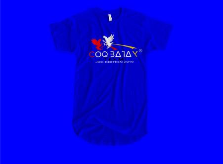Tee shirt crée pour les Jeux des Iles de l'Océan Indien