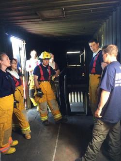 Live Fire Training - Interior