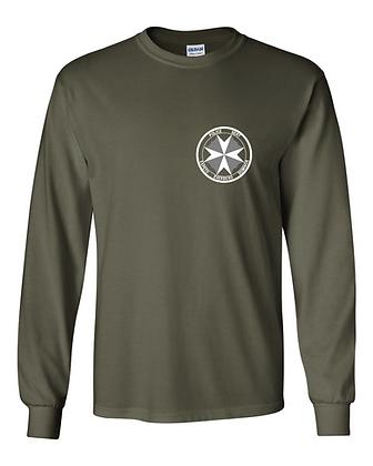 SERT Basic Long Sleeve T-Shirt - Military Green