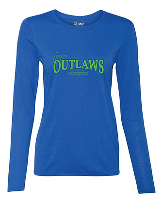 Iowa OUTLAWS Fastpitch Women's Performance Long Sleeve Shirt