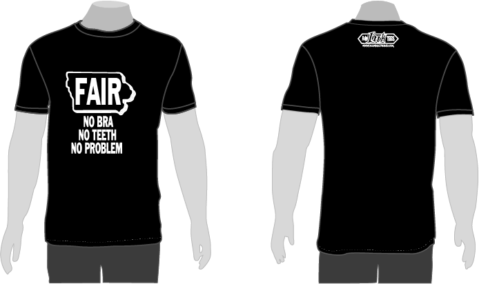 "Sate Fair Shirt ""NO PROBLEM"""
