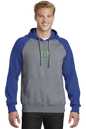 Iowa Outlaws Raglan Hoodie