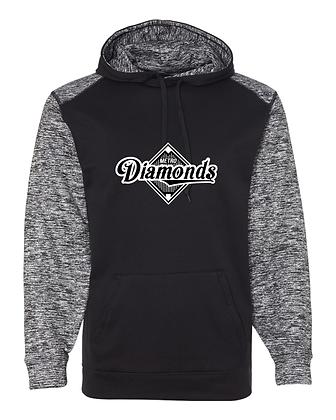 Metro Diamonds Cosmic Performance Hoodie