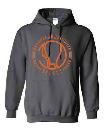 360 Select Basic Hoodie - Charcoal