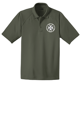SERT Dry-Fit Tactical Polo - Tactical Green - Screen Printed