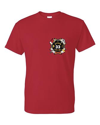 DTFD T-Shirt - Red