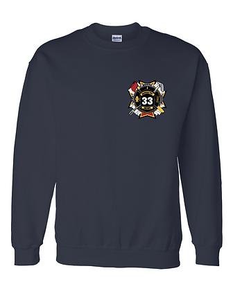 DTFD Crewneck Sweatshirt - Navy