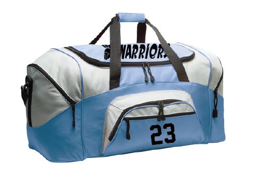 "Warriors Duffel Bag - 12.75""h x 27.25""w x 13.5""d"